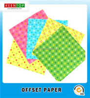 DIY craft offset paper origami colour handcraft paper