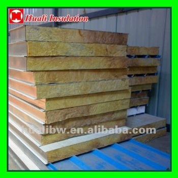 Mineral Wool Roof Insulation With Color Plate Buy