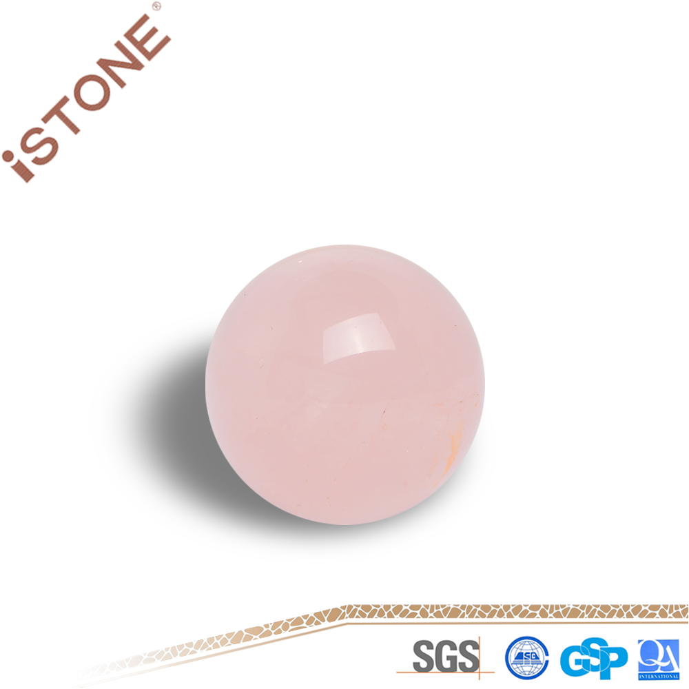 High Quality Rose Quartz Crystal Ball For gift