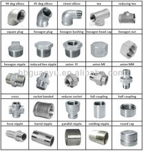 304 316 stainless steel fittings, with BSP/NPT thread