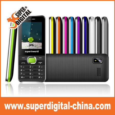 2.4inch hot sell Popular big speaker Sound mobile phone with facebook