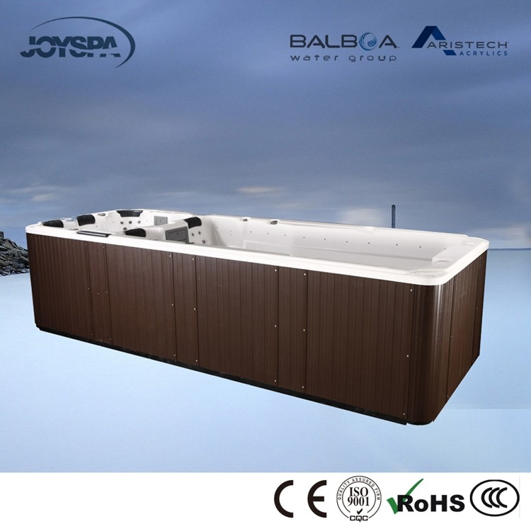 Europe Style CE Whirlpool Endless Gym Exercise Swim Spa Pool JY8601