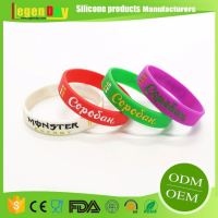 Most Popular Customizable Silicone Wristband