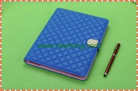New Arrival Product Sheepskin Diamond Leather Tablet Case for Ipad 6