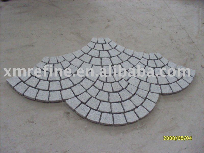 vermaschten ebnen granit pflastersteine produkt id 389937339. Black Bedroom Furniture Sets. Home Design Ideas