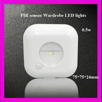 2014 new style 0.5w led kitchen cabinet light Uses 3 AAA batteries