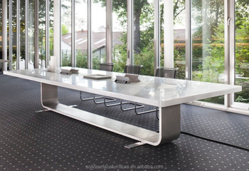 The modern artificial stone 12 person conference table 14 for 12 person conference table