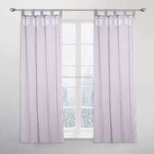 100% Polyester Solid Sheer Window Curtains