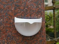 Art deco outdoor waterproof IP55 garden lamp body sensor wall light