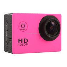 Full HD F23 1080P Sport Camera Waterproof 170 Degree Wide-angle Fish-eye Lens
