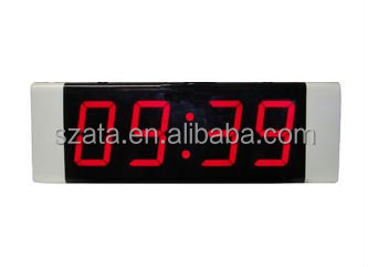 led digital table clock display in four digit