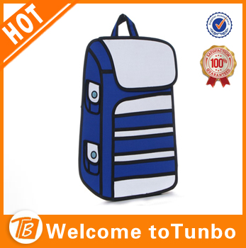 Backpack 3d cartoon bag kids school bags bolsos