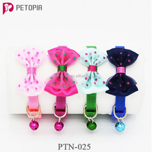 Best selling products pets accesories polyester custom dog collar