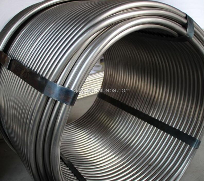 tp304 spiral stainless steel cask cooling coil pipe