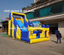 commercial inflatable slide wet/dry slide for kids