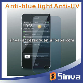 Anti Blue Light Anti UV Screen Protector for IP4 and IP5 With High Quality