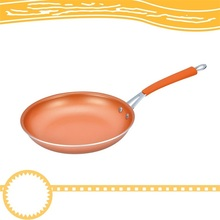 Electromagnetic Oven Aluminum Round Ceramic Coating Non Stick Frying Copper Pan