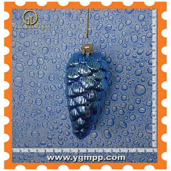 Sell glass pinecone ornaments