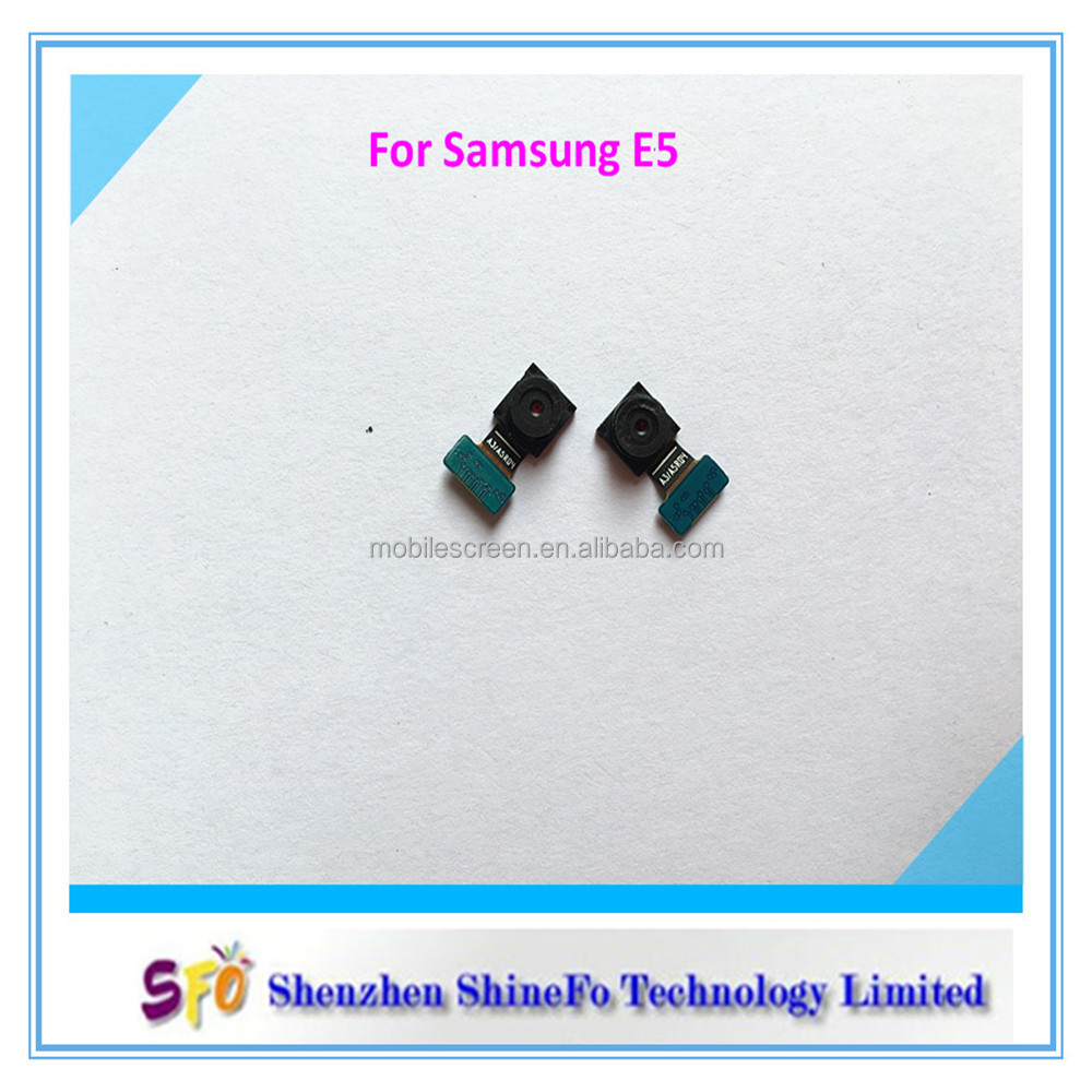 Wholesale Cell Phone Front Camera For Samsung Galaxy E5, Spare Parts For Samsung E5