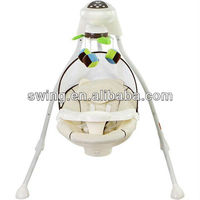 China Manufacturer retail daily electric children baby swing product with high quality