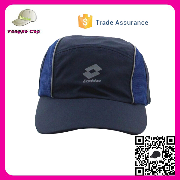 Unisex Adjustable Sun Quick Dry baseball cap Mesh Race custom cycling cap