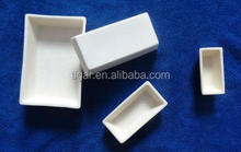 alumina ceramic boat with good performance and attractive cost