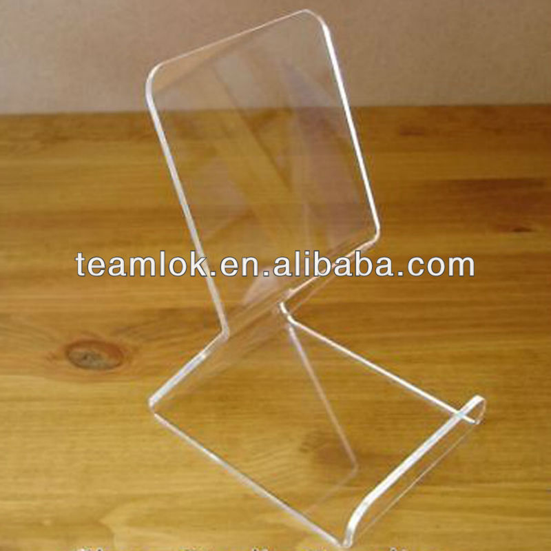 HOT Selling 180mm High Clear Acrylic Book Display Stand