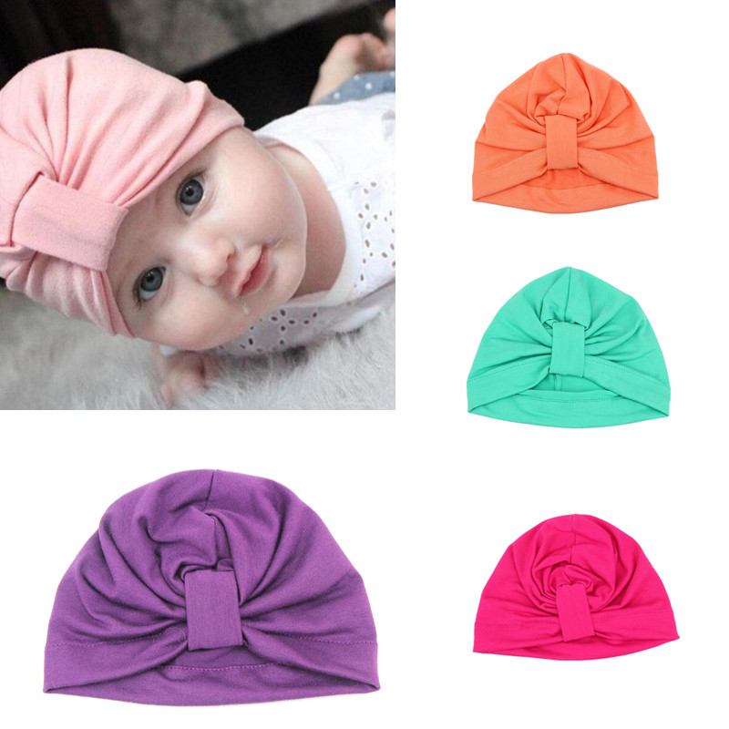 Fancy candy color crochet free knitting patterns cotton unisex baby beanie
