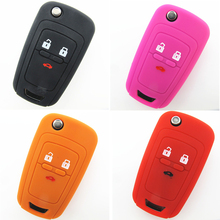 Fob Shenzhen Orange Replacement Silicone Auto Key Case Silica Gel Car Key Cover