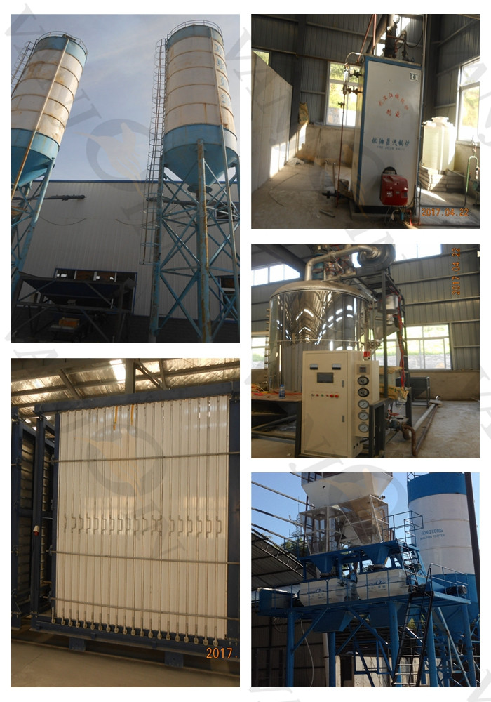 Cost Effective EPS Cement Sandwich Wall Panel Production Line with One Key Control 6th Generation Machine