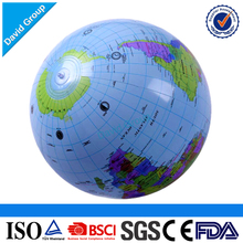 Alibaba Top Supplier Promotional Wholesale Custom Inflatable Earth Globe Beach Ball