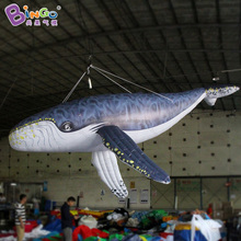 Hanging Inflatable Humpback whale, inflatable blue whale