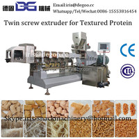 Textured soy meat/artificial fake protein meat production line from Jinan DG company