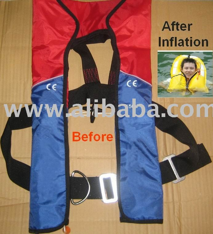 CE Inflatable Lifejacket