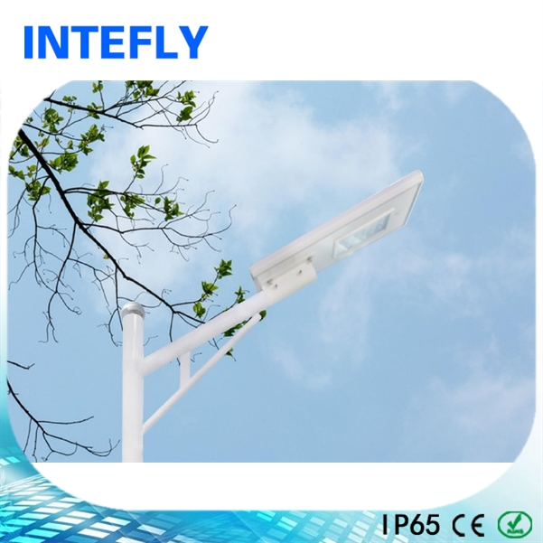 Factory sale bridgelux led street light with solar controller