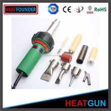 1600W temperature adjustable hot air gun/pvc plastic window welding machine