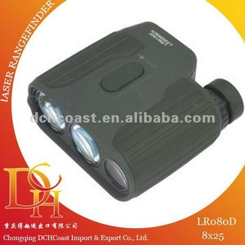 800m 8x25 laser range finder for golf measuring instrument LR080D