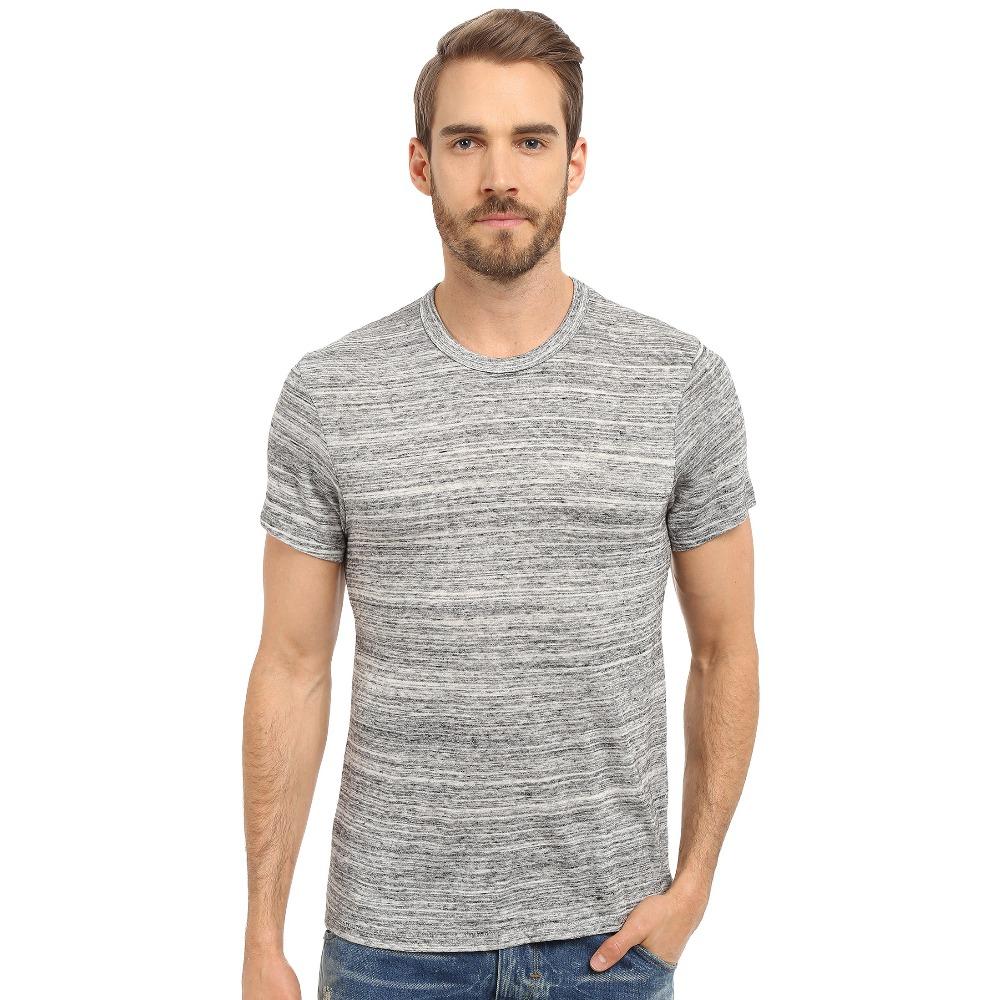 Cheap plain blank hemp fabric t shirt collar mens plain t for Mens hemp t shirts