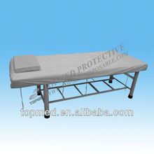 Nonwoven disposable bed cover/couch cover for spa hotel, hospital, beauty salon