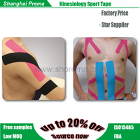 Factory hot selling kinesiology tape roll for joint pain New manufacture cotton sport muscle tape good quality muscle s
