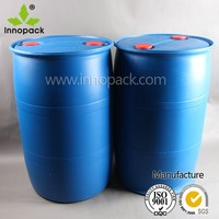 HDPE blue plastic container 200 litre blue plastic drum 55 gallon HDPE blue plastic drums for water