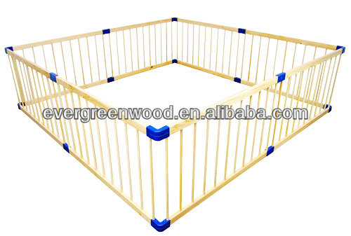 Giant Baby Wood Square Playpen/Large Playpen
