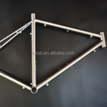Supply and alloy titanium cyclocross bicycle frame directly from China facoty