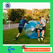 TPU 1.5 m inflatable human soccer bubble bumper ball, bubble football
