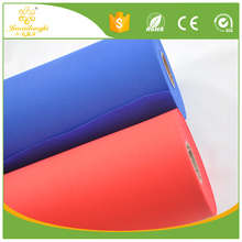 Biodegradable fashion pattern pla spunbonded non-woven fabric roll for garment 25kg polypropylene bag/ flower wrapping