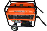 5kw high quality gasoline generator set with remote control panel over 40 metres