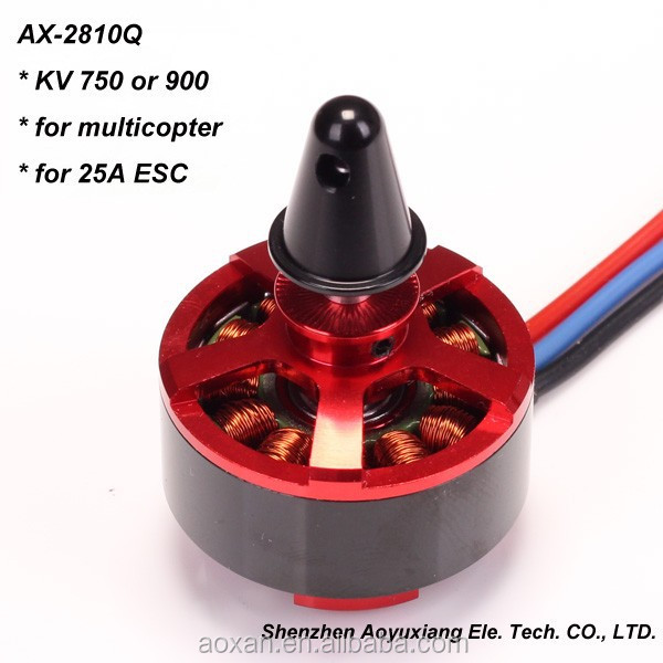 Electric RC Hobby Outrunner AX-2810Q-750KV Brushless Quadcopter Motor