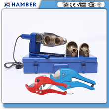 HAMBER ppr pe pb pvc hdpe pex pastic pipe cutting tools and welding tools ppr pipe cutting and welding machine kit