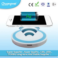 Universal receiver model qi wireless charger for android mobile phones