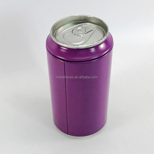 New Design Metal Round Money Saving Bank Tin Can Coin Bank